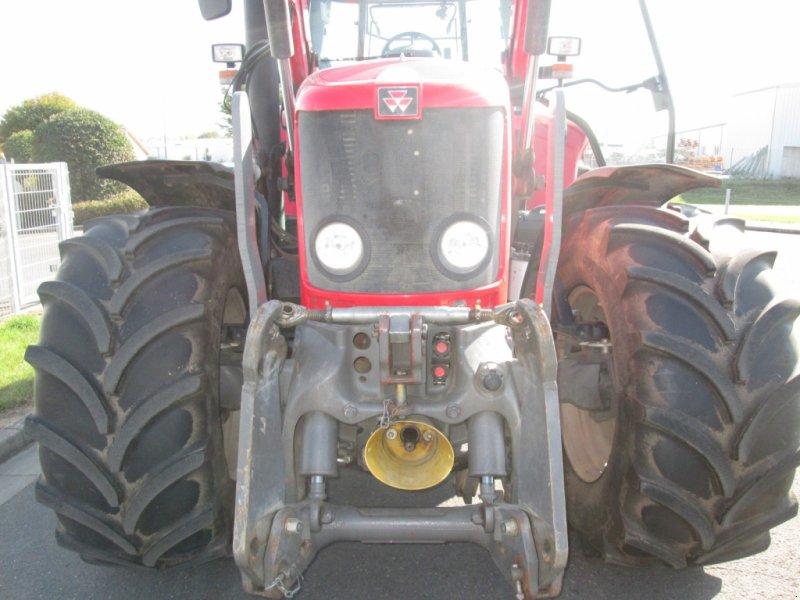 Traktor des Typs Massey Ferguson 6480 Dyna 6 mit Alö Q65 Frontlader, Gebrauchtmaschine in Wülfershausen an der Saale (Bild 6)