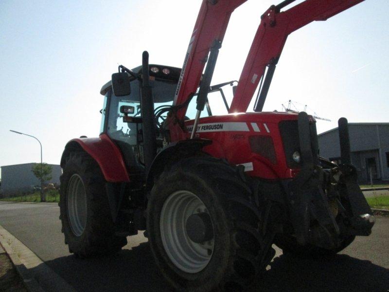 Traktor des Typs Massey Ferguson 6480 Dyna 6 mit Alö Q65 Frontlader, Gebrauchtmaschine in Wülfershausen an der Saale (Bild 12)