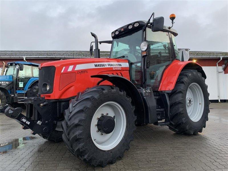 Traktor типа Massey Ferguson 6480 DYNA 6 PÅ VEJ HJEM!, Gebrauchtmaschine в Aalestrup (Фотография 1)