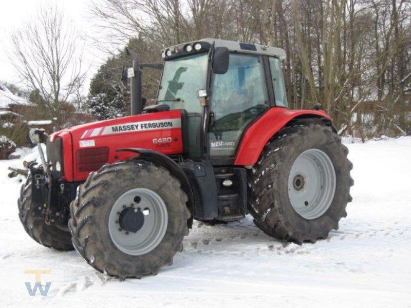 Traktor des Typs Massey Ferguson 6480 Dyna 6, Gebrauchtmaschine in Gleschendorf (Bild 1)