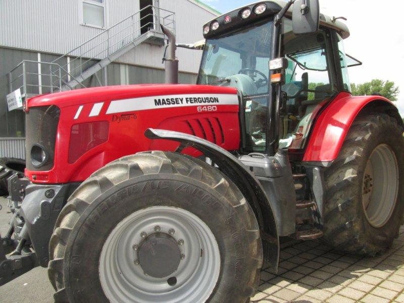 Traktor des Typs Massey Ferguson 6480 Dyna 6, Gebrauchtmaschine in Wülfershausen an der Saale (Bild 2)