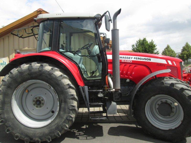Traktor des Typs Massey Ferguson 6480 Dyna 6, Gebrauchtmaschine in Wülfershausen an der Saale (Bild 12)