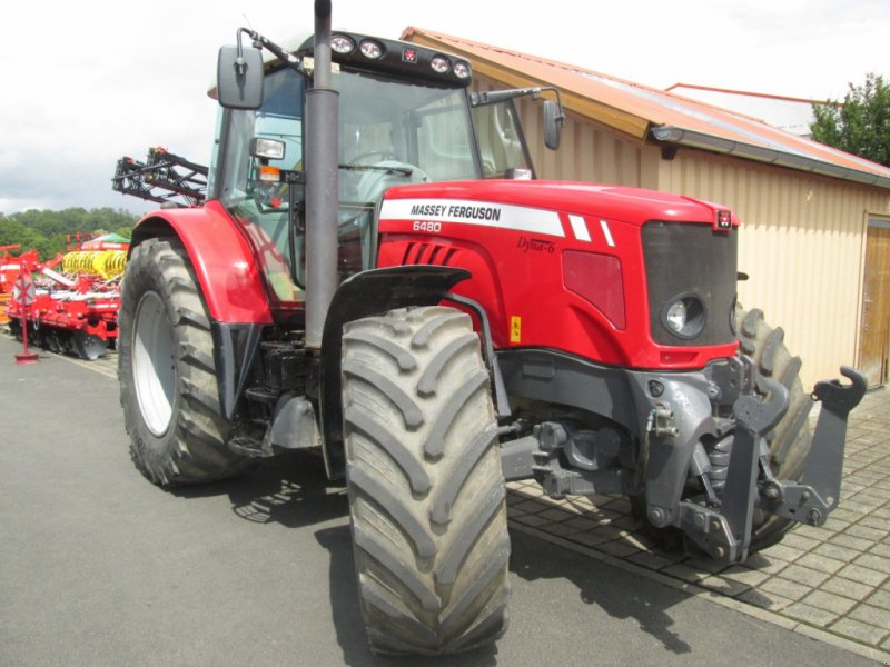 Traktor des Typs Massey Ferguson 6480 Dyna 6, Gebrauchtmaschine in Wülfershausen an der Saale (Bild 13)