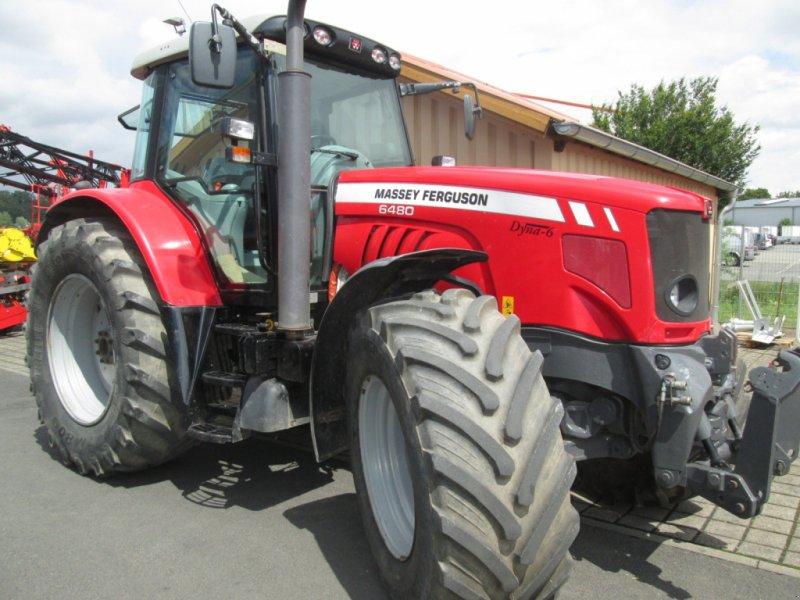 Traktor des Typs Massey Ferguson 6480 Dyna 6, Gebrauchtmaschine in Wülfershausen an der Saale (Bild 17)