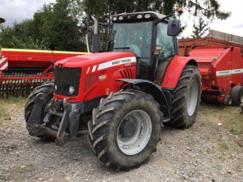 Traktor типа Massey Ferguson 6480 Elite+, Gebrauchtmaschine в Muespach-le-Haut (Фотография 1)