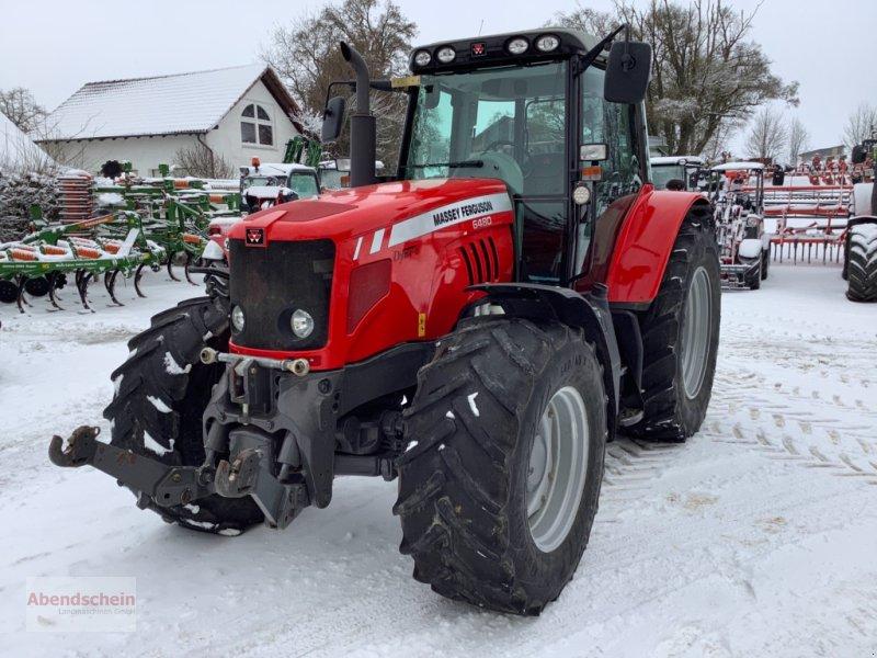 Traktor des Typs Massey Ferguson 6480, Gebrauchtmaschine in Blaufelden (Bild 1)