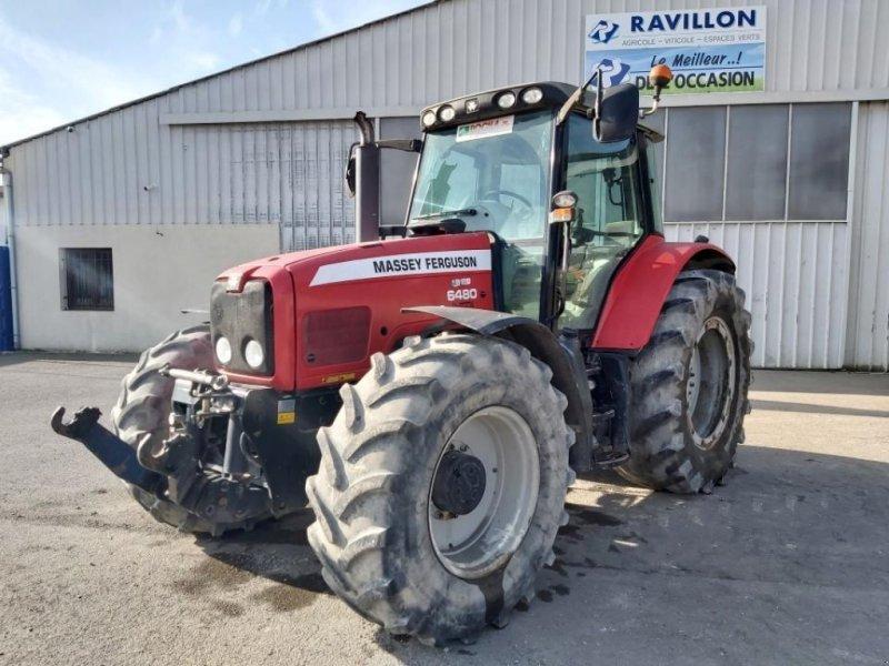 Traktor типа Massey Ferguson 6480, Gebrauchtmaschine в VERT TOULON (Фотография 1)
