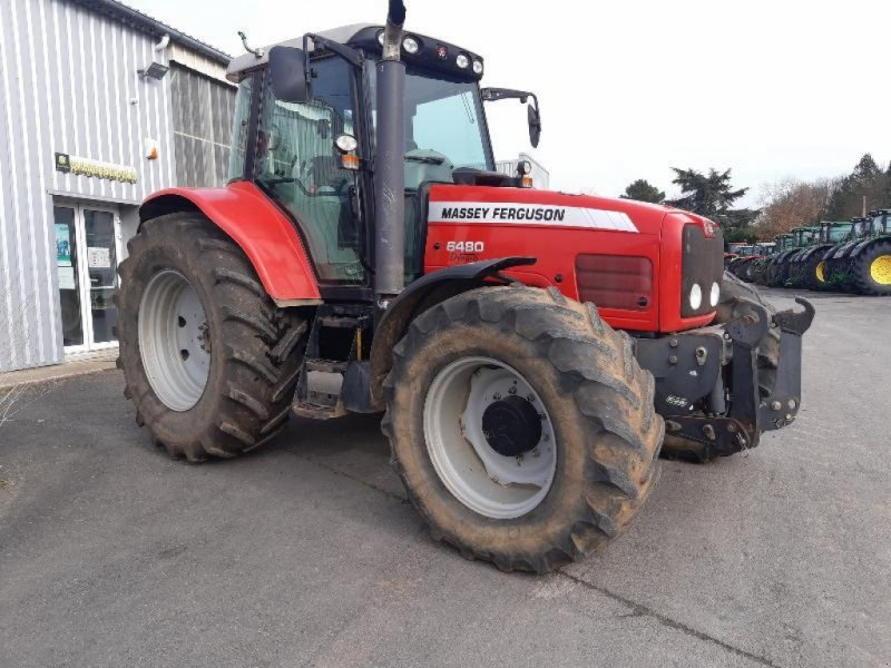 Traktor типа Massey Ferguson 6480, Gebrauchtmaschine в SAINT GENEST D'AMBIERE (Фотография 1)