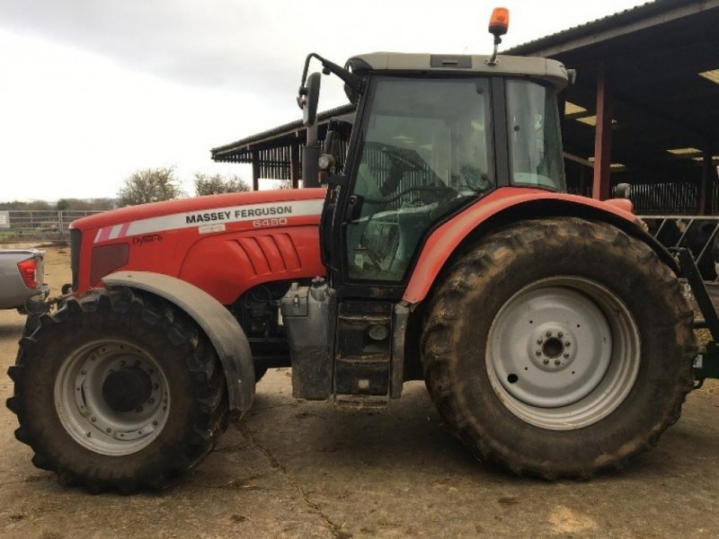 Traktor des Typs Massey Ferguson 6480, Gebrauchtmaschine in Thornbury (Bild 2)