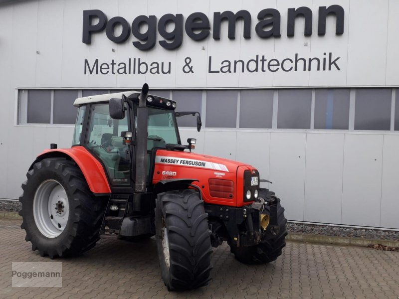 Traktor des Typs Massey Ferguson 6480, Gebrauchtmaschine in Bad Iburg - Sentrup (Bild 11)