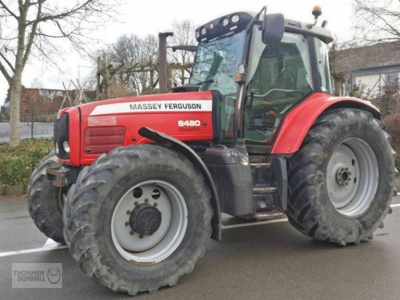Traktor типа Massey Ferguson 6480, Gebrauchtmaschine в Crombach/St.Vith (Фотография 1)