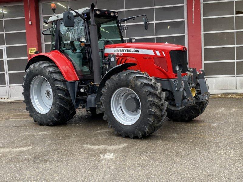 Traktor типа Massey Ferguson 6480, Gebrauchtmaschine в Nussdorf (Фотография 1)