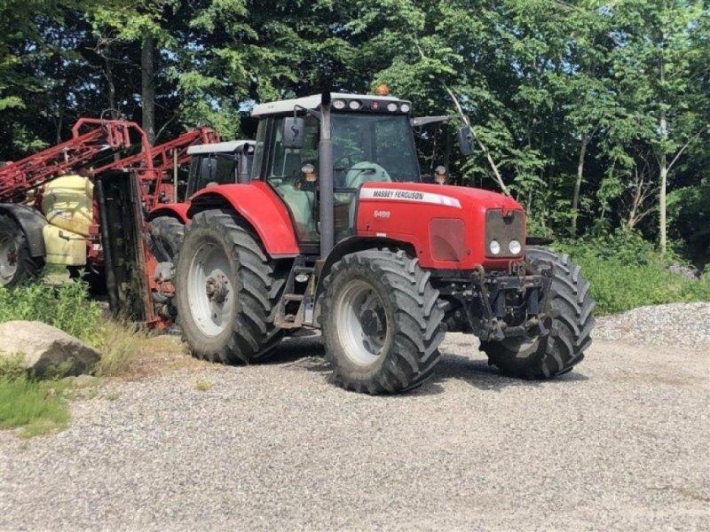 Traktor типа Massey Ferguson 6499dynashift, Gebrauchtmaschine в RANDERS SV (Фотография 1)