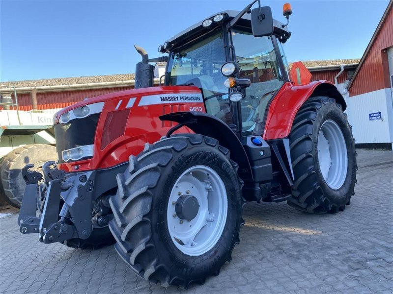 Traktor типа Massey Ferguson 6613  DYNA 6 OG KUN 1600 TIMER!, Gebrauchtmaschine в Aalestrup (Фотография 1)