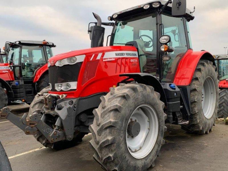 Traktor des Typs Massey Ferguson 6614 EFFICIENT, Gebrauchtmaschine in Ste Catherine (Bild 1)
