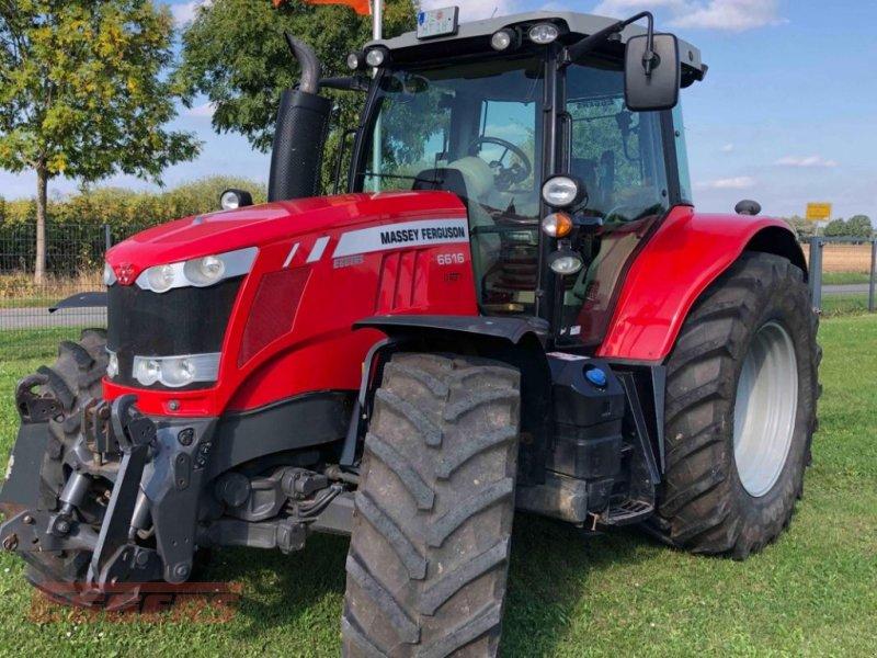 Traktor des Typs Massey Ferguson 6616 Dyna 6 Efficent, Gebrauchtmaschine in Suhlendorf (Bild 1)