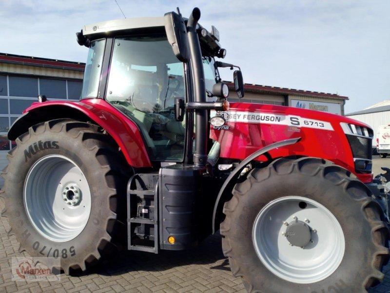 Traktor des Typs Massey Ferguson 6713S Dyna-6 Efficent, Gebrauchtmaschine in Stapel (Bild 1)