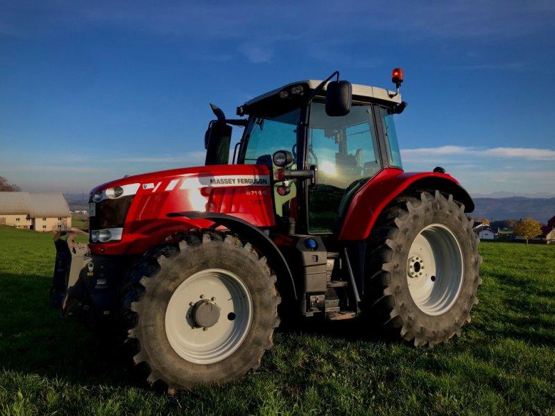 Traktor типа Massey Ferguson 6714 S, Gebrauchtmaschine в Albbruck (Фотография 1)