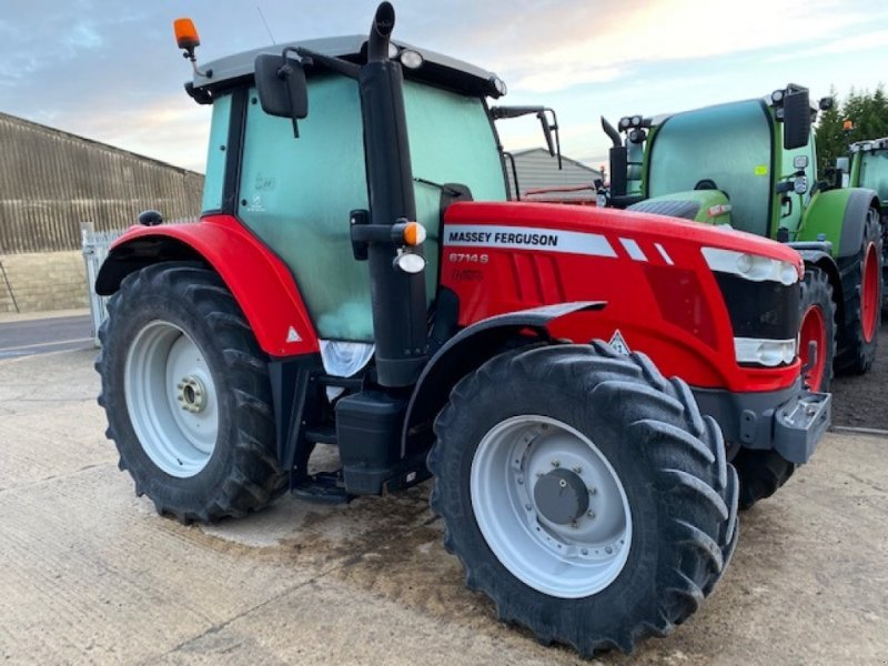 Traktor typu Massey Ferguson 6714, Gebrauchtmaschine w Grantham (Zdjęcie 1)