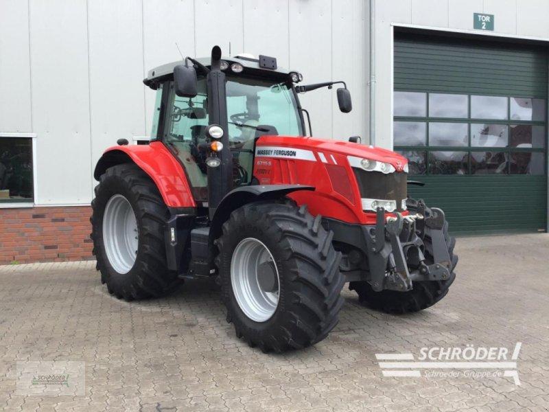 Traktor des Typs Massey Ferguson 6715 S DYNA-VT EXCLU, Gebrauchtmaschine in Völkersen (Bild 1)