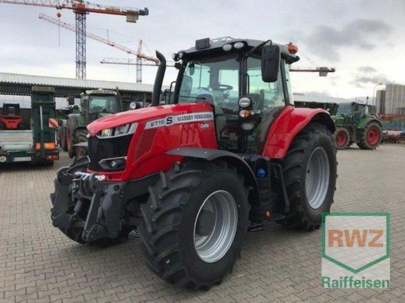 Traktor des Typs Massey Ferguson 6715 S Dyna VT EXCLUSIVE, Neumaschine in Zülpich (Bild 1)