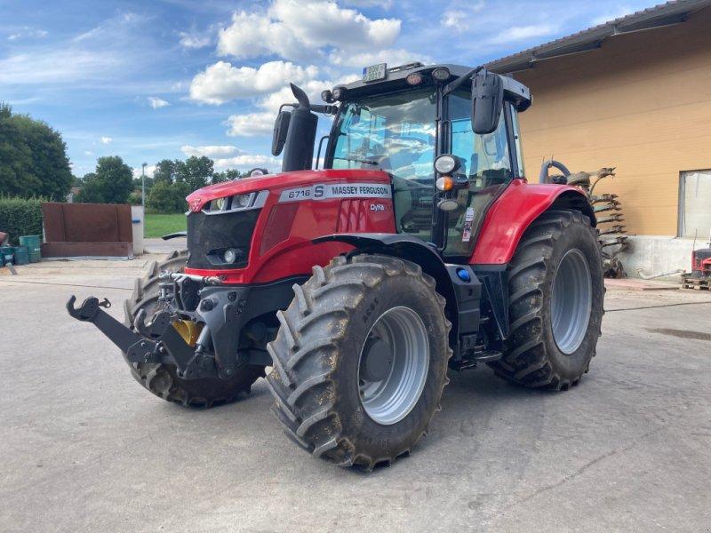 Traktor des Typs Massey Ferguson 6716 Dyna VT, Gebrauchtmaschine in Marktoffingen (Bild 1)