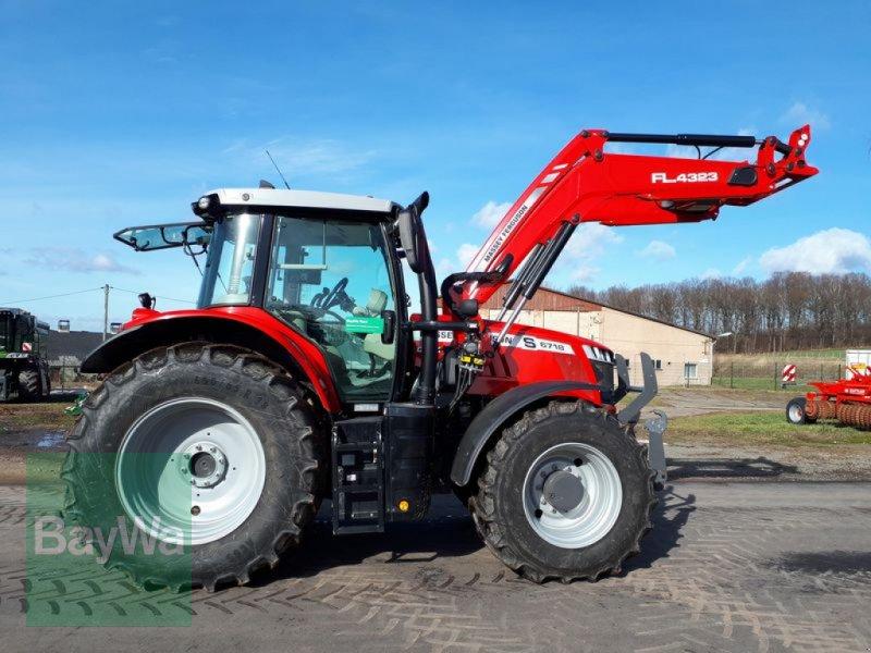 Traktor des Typs Massey Ferguson 6718 S DYNA-VT EXCLUSIVE, Gebrauchtmaschine in Oberschöna (Bild 1)