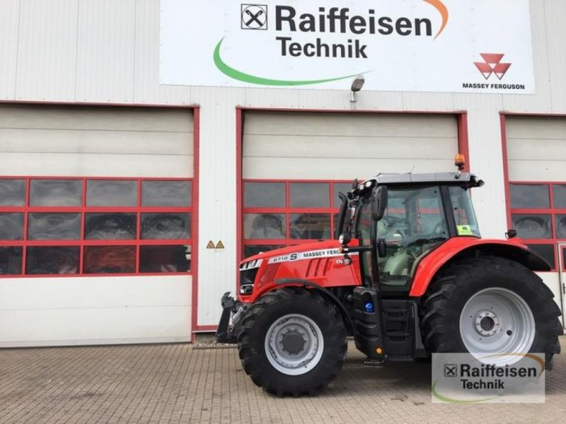 Traktor a típus Massey Ferguson 6718S Dyna-VT, Gebrauchtmaschine ekkor: Eslohe (Kép 1)