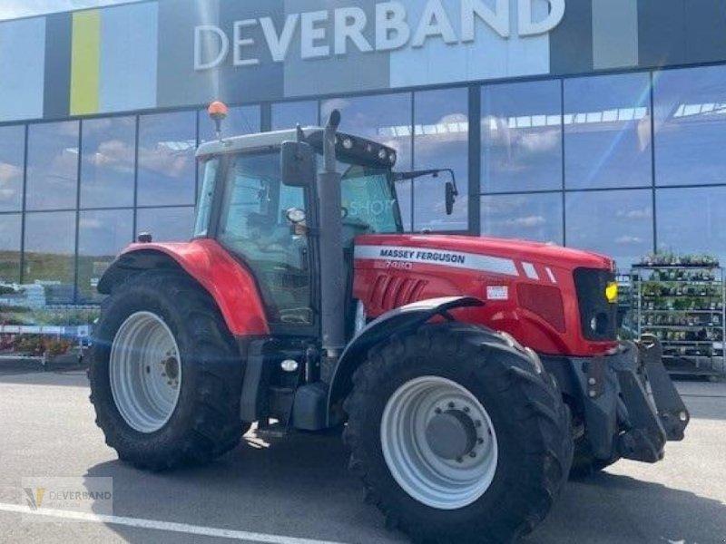 Traktor des Typs Massey Ferguson 7480 Dyna VT, Gebrauchtmaschine in Colmar-Berg (Bild 1)
