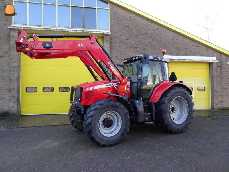 Traktor типа Massey Ferguson 7480, Gebrauchtmaschine в Zoetermeer (Фотография 1)