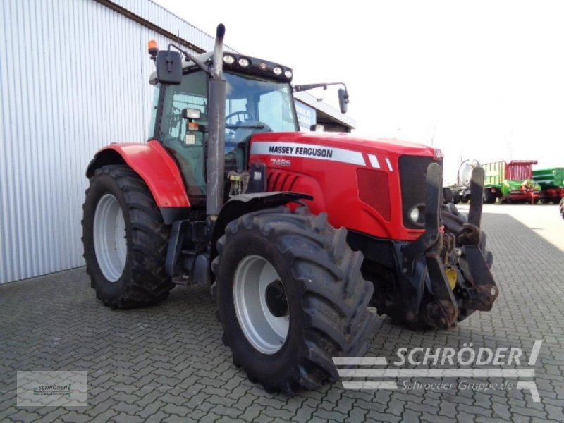 Traktor des Typs Massey Ferguson 7485 DYNA-VT, Gebrauchtmaschine in Ahlerstedt (Bild 1)