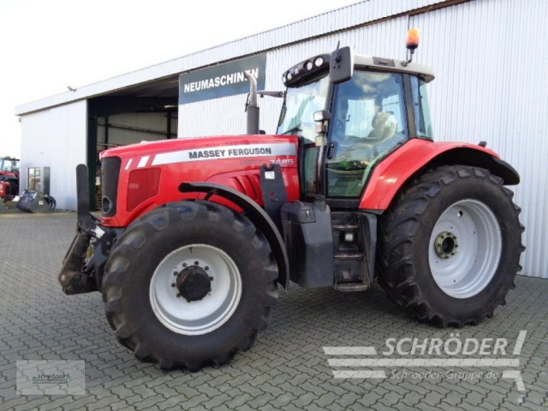 Traktor des Typs Massey Ferguson 7485 DYNA-VT, Gebrauchtmaschine in Ahlerstedt (Bild 2)