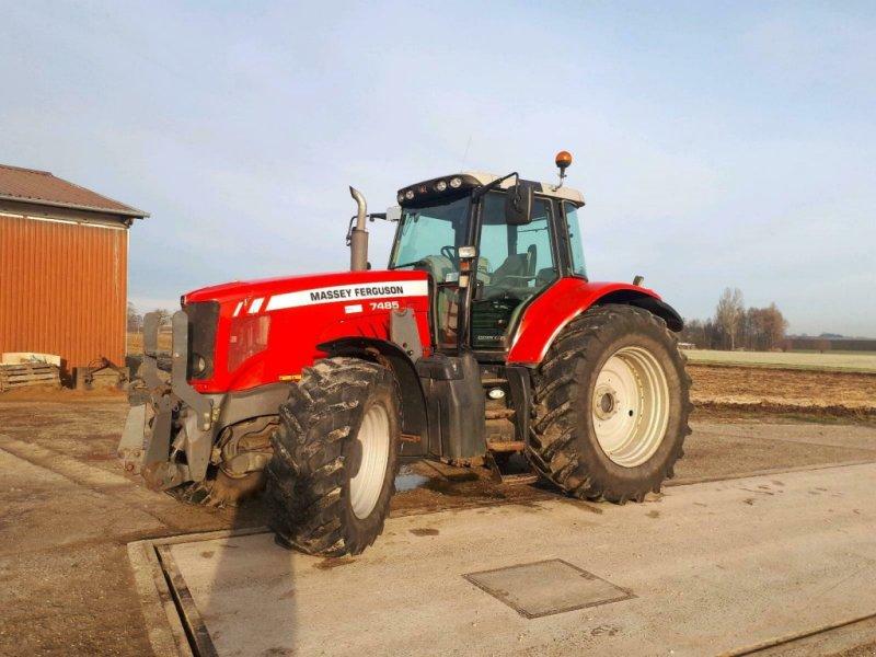 Traktor des Typs Massey Ferguson 7485, Gebrauchtmaschine in Oettingen (Bild 1)