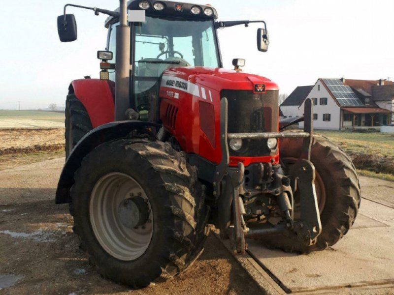 Traktor des Typs Massey Ferguson 7485, Gebrauchtmaschine in Oettingen (Bild 3)