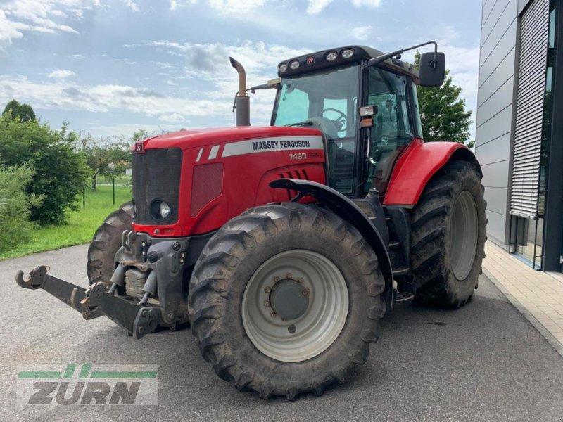 Traktor des Typs Massey Ferguson 7490 Dyna VT, Gebrauchtmaschine in Euerhausen (Bild 1)
