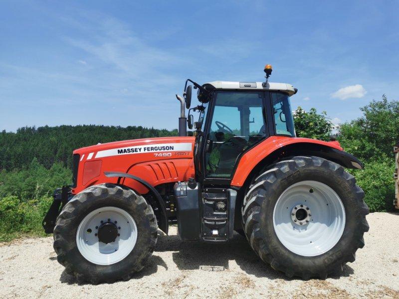Traktor des Typs Massey Ferguson 7490 Dyna VT, Gebrauchtmaschine in Ellenberg (Bild 1)