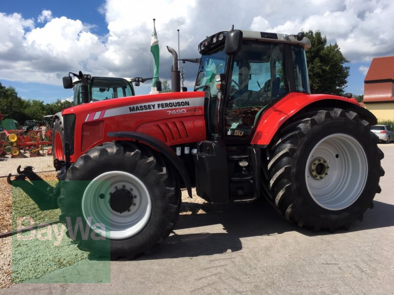Traktor des Typs Massey Ferguson 7490 Dyna VT, Gebrauchtmaschine in Dinkelsbühl (Bild 7)