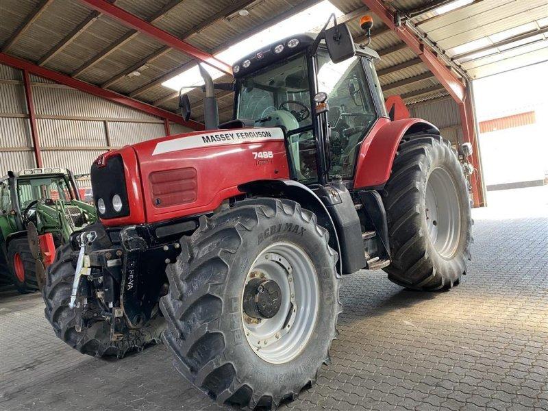 Traktor des Typs Massey Ferguson 7495 Dyna VT MED GODE DÆK OG FULD AFFJEDRING!, Gebrauchtmaschine in Aalestrup (Bild 1)