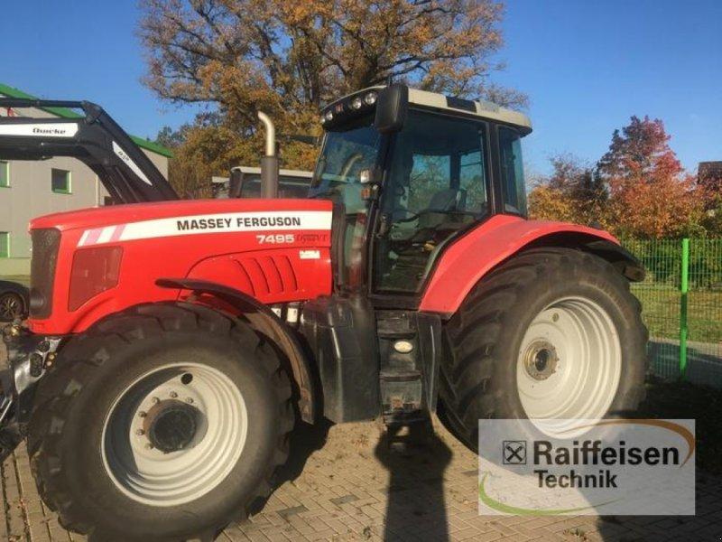Traktor des Typs Massey Ferguson 7495 Dyna VT neuer Trieb, Gebrauchtmaschine in Ebeleben (Bild 1)
