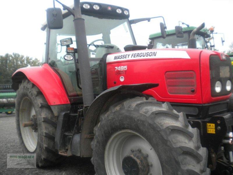 Traktor типа Massey Ferguson 7495 Dyna VT, Gebrauchtmaschine в Bad Wildungen-Wega (Фотография 1)