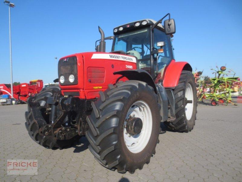 Traktor типа Massey Ferguson 7495 DYNA VT, Gebrauchtmaschine в Bockel - Gyhum (Фотография 1)