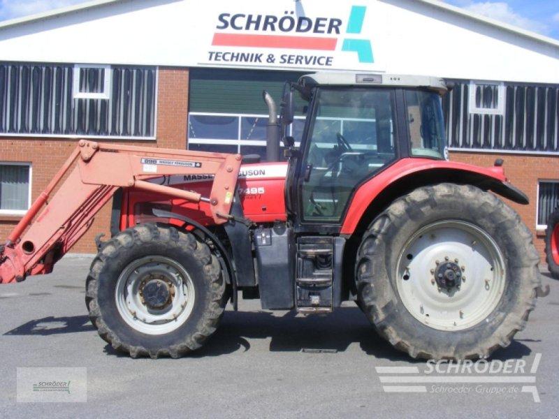 Traktor des Typs Massey Ferguson 7495 Dyna VT, Gebrauchtmaschine in Leizen (Bild 1)