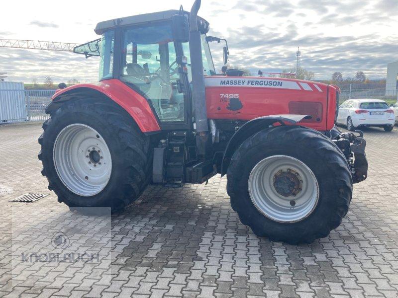 Traktor типа Massey Ferguson 7495, Gebrauchtmaschine в Stockach (Фотография 1)