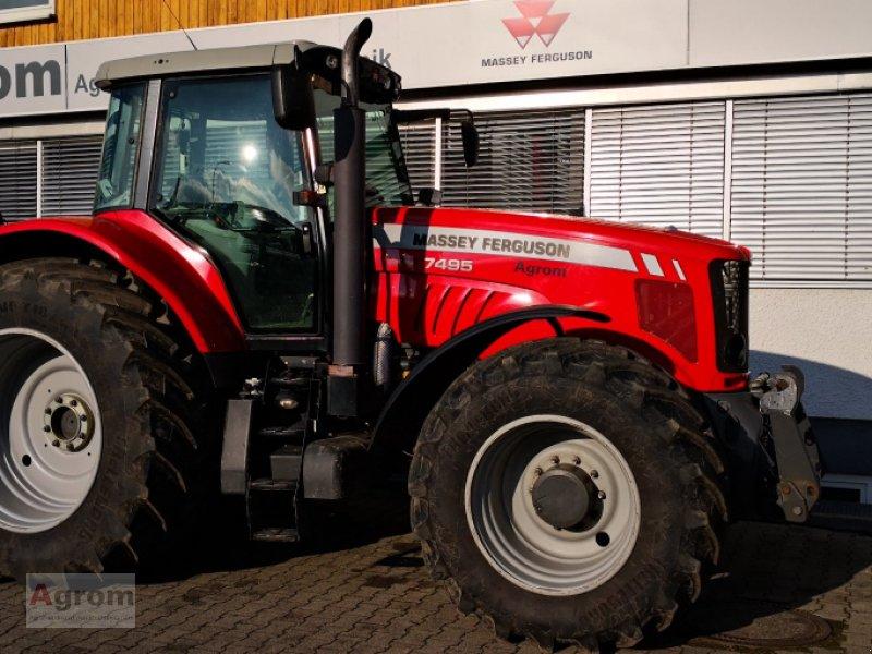 Traktor типа Massey Ferguson 7495, Gebrauchtmaschine в Riedhausen (Фотография 1)