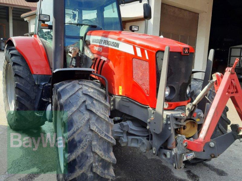 Traktor типа Massey Ferguson 7495, Gebrauchtmaschine в Rain (Фотография 1)