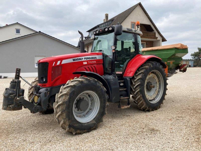 Traktor typu Massey Ferguson 7499 DVT stufenlos; GPS;, Gebrauchtmaschine v Sulzbach Rosenberg (Obrázok 1)