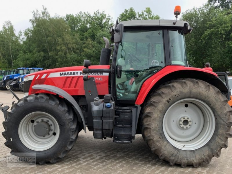 Traktor типа Massey Ferguson 7616 DYNA 6 Allrad, Gebrauchtmaschine в Bramsche (Фотография 5)