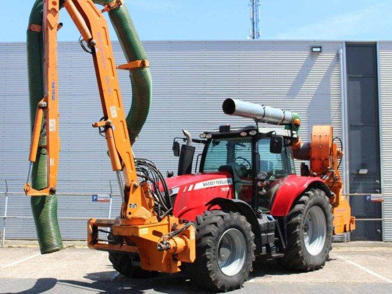 Traktor des Typs Massey Ferguson 7618 Dyna-6 Efficient met Mulag Gödde GFA 700S, Gebrauchtmaschine in Geldermalsen (Bild 1)