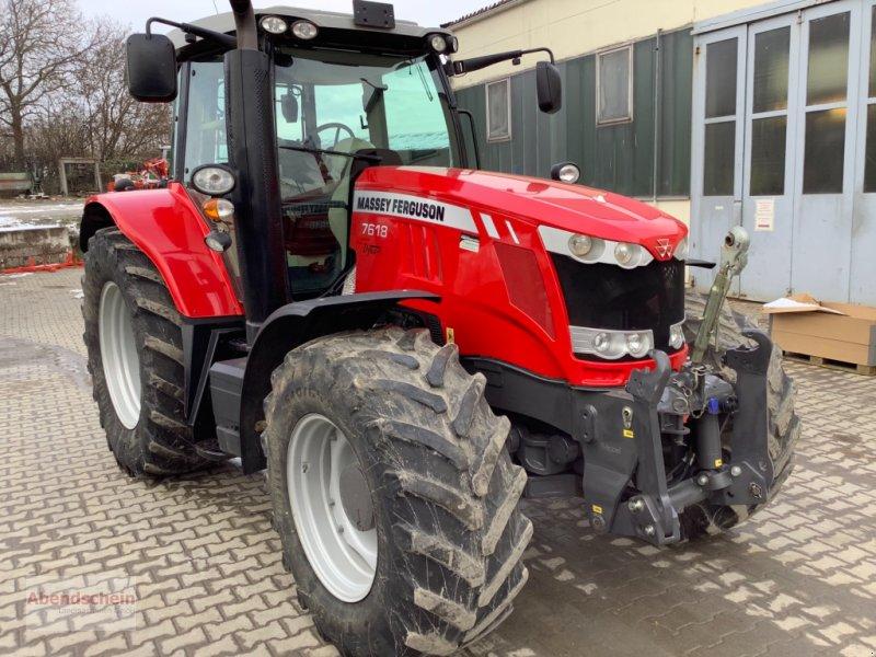 Traktor des Typs Massey Ferguson 7618 Dyna 6, Gebrauchtmaschine in Blaufelden (Bild 1)