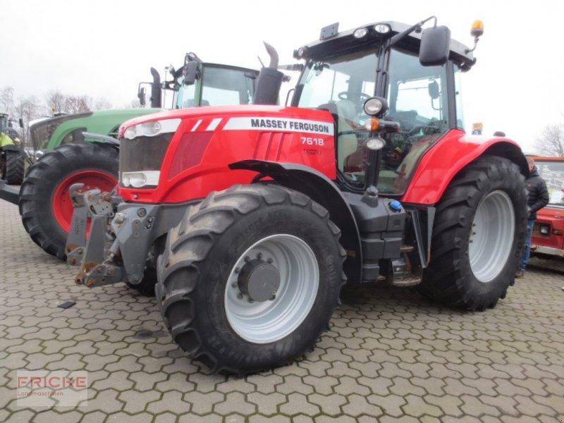 Traktor des Typs Massey Ferguson 7618 DYNA VT, Gebrauchtmaschine in Bockel - Gyhum (Bild 1)